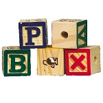 Alphabet Block (each)