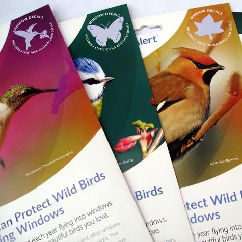 Window Alert Set Of  Hummingbirds - Window alert decals for birds