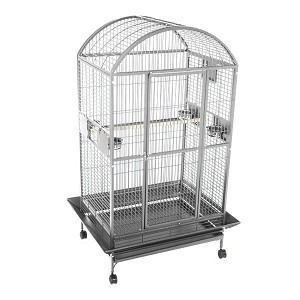 "A&E 48"" x 36"" A&E Dome Top cage, Stainless Steel"