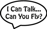 Window Decal - I Can Talk
