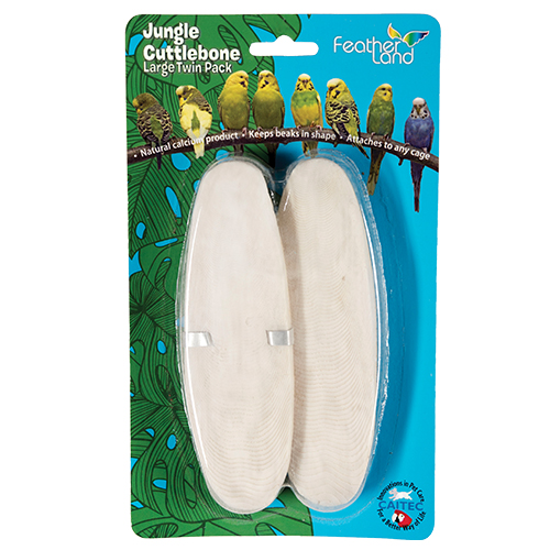 Carded, Large Cuttlebone Twin Pack