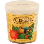 Nutri-Berries, Parrot Size, 12oz Tub
