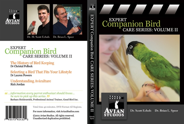Avian Studios Expert Companion Bird Series, Vol 2.