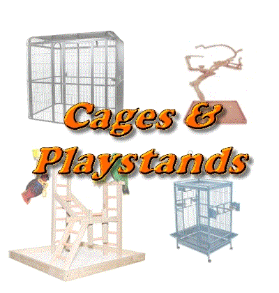 Cages and Playstands