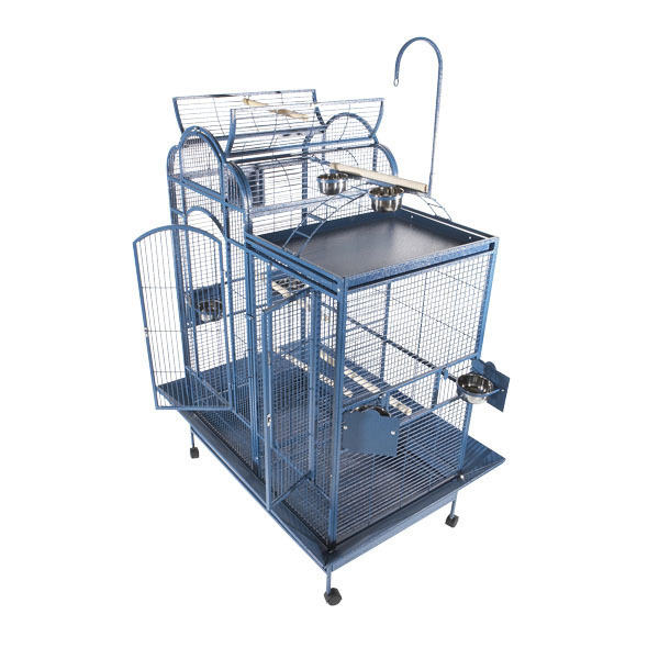 Split Level Bird Cage - with Playtop & Divider