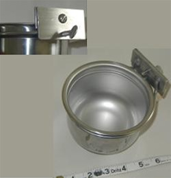 Stainless Steel Locking Bowls (Horiz) - 24 ounces