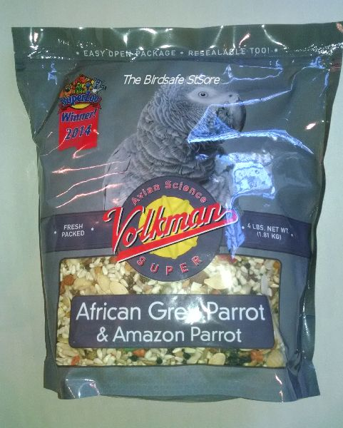 Volkman's Avian Science African Grey- 4lb