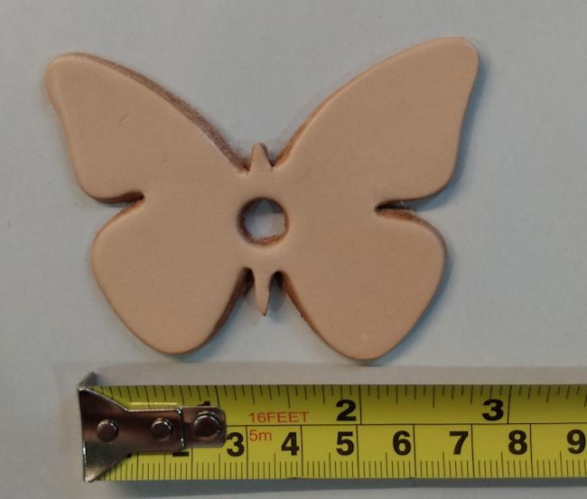 Leather Butterfly - Medium