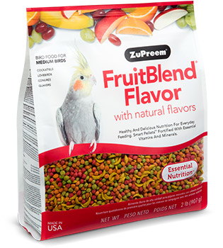 ZuPreem Fruitblend Medium, 2lb