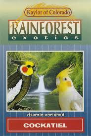 Kaylor Rainforest  Cockatiel 20lb (Direct Ship) -