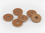 1-inch Leather Rounds