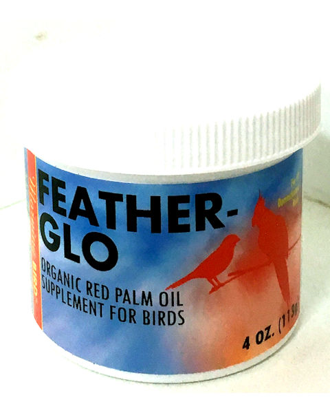 Morning Bird Feather-Glo Palm Oil, 4oz