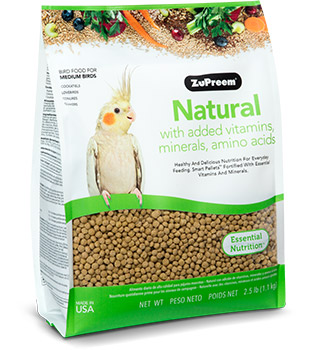 Zupreem Natural Medium 2.5lb