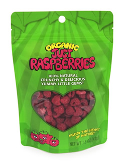 Organic Just Raspberries