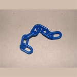 3/4-inch Plastic Chain, Blue (per foot)