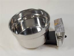 Lixit Quick-Lock Crock, 10oz, Stainless