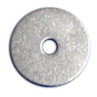 Stainless Steel Washers - 2-inch (1/4