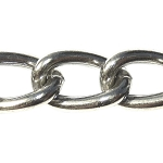 Stainless Steel Chain, 3.5mm (per foot)