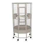 Octagon Parrot Cage with 1