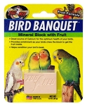 Bird Banquet Mineral Block, Fruit, 1oz