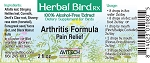 Avitech Arthritis Herbal Formula, 1oz