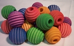 Color Beehive Beads 1