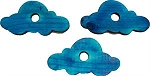 Color Pine Clouds, Blue (pack of 5)