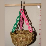 Birdsafe Hanging Bird Basket