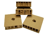 Cardboard Boxes, X-Small (pack of 4)