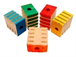 Groovy Blocks, Pack of 5