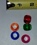 16mm Acrylic Barrel Beads (pack of 20)