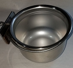 Stainless Steel Locking Bowls - 24 ounces - Bowl with Locking Ring
