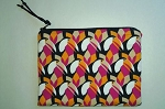 Handmade Zipper Cosmetic Pouch, Toucans