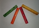 Wood Dowel Toy Parts (pack of 4)