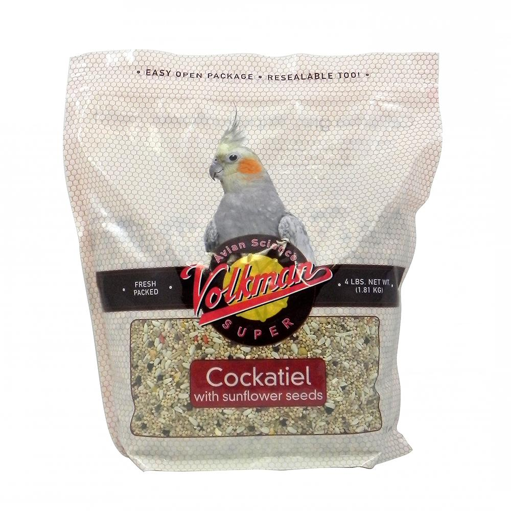 Volkman Avian Science 20lb bags - Cockatiel With Sunflower (Direct Ship)