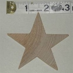 Wood Star, Large