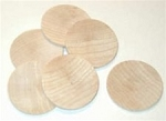 Wooden Discs (bag of 10)