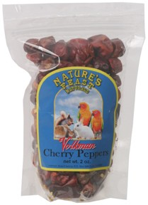 Nature's Feast Cherry Peppers, 2oz