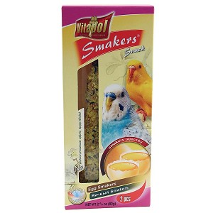 Vitapol Smakers Egg Sticks, Budgie 2-pack