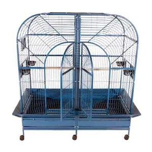 "64""x32"" A&E Double Macaw Cage with Removable Divider"