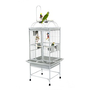 "A&E 24""x22"" Play Top cage, Stainless Steel"