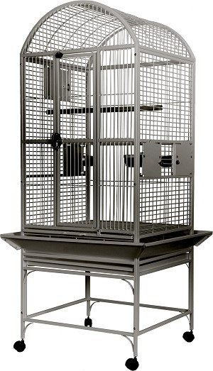 "A&E 24""x22"" Dome Top cage, Stainless Steel"
