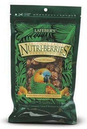 Tropical Fruit Nutri-Berries, Parrot 10 oz.