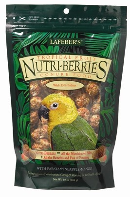 Tropical Fruit Nutri-berries, Conure, 10oz