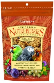 Senior Nutri-Berries, Parrot 10oz