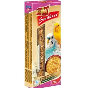 Vitapol Smakers Honey Sticks, Budgie 2-pack