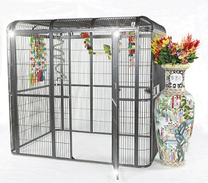 "62""x62"" Walk In Aviary Stainless Steel"