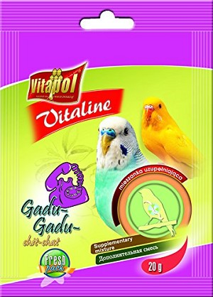 Vitaline Chit-Chat Budgie Supplement, 20gm