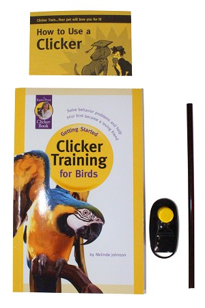 Clicker Training For Birds, Getting Started Kit