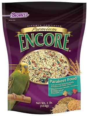 Brown's Encore Premium Parakeet, 5lb